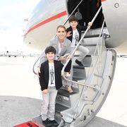 Η Celine Dion φωτογραφίζεται με τους γιους της με αφορμή τα 7α γενέθλιά τους