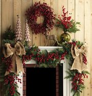 Χριστουγεννιάτικη διακόσμηση: 63 ιδέες για να στολίσετε το τζάκι σας
