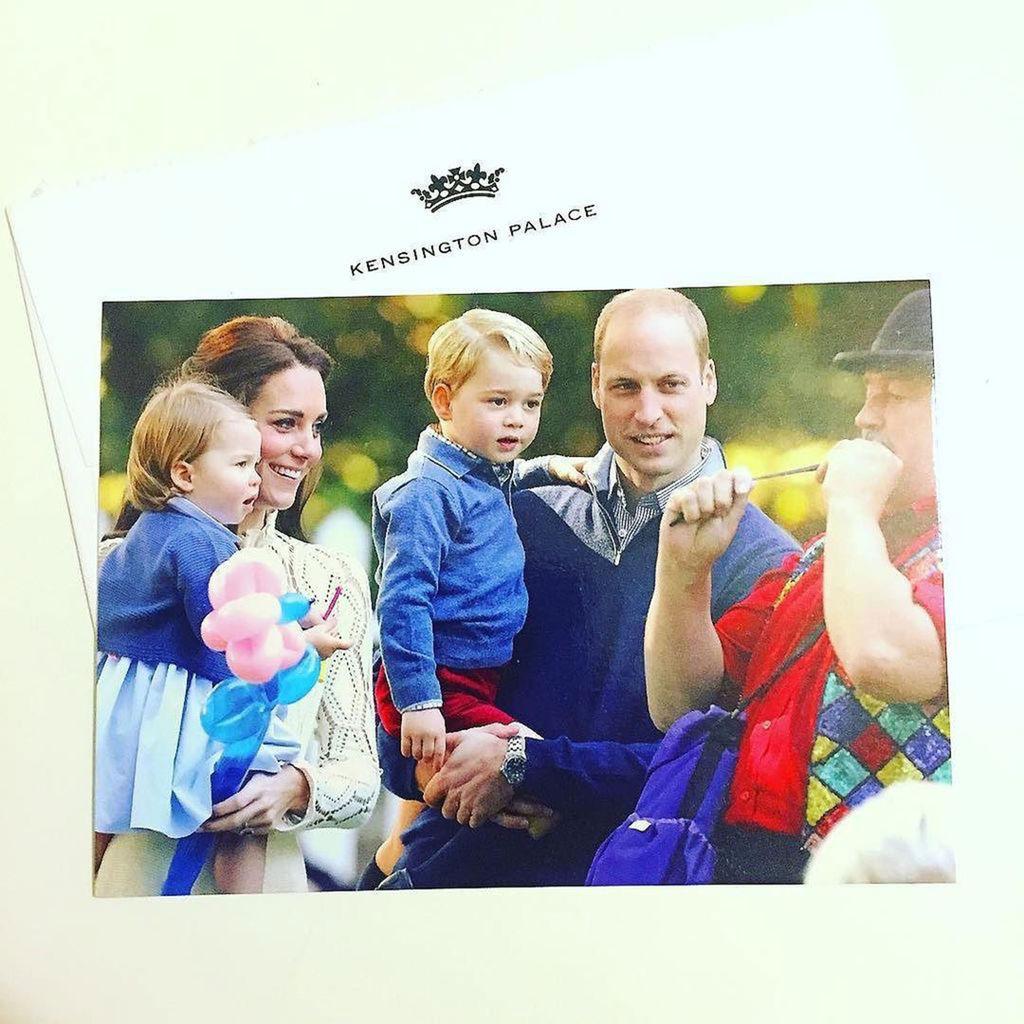 Η χριστουγεννιάτικη κάρτα της βασιλικής οικογένειας του 2016
