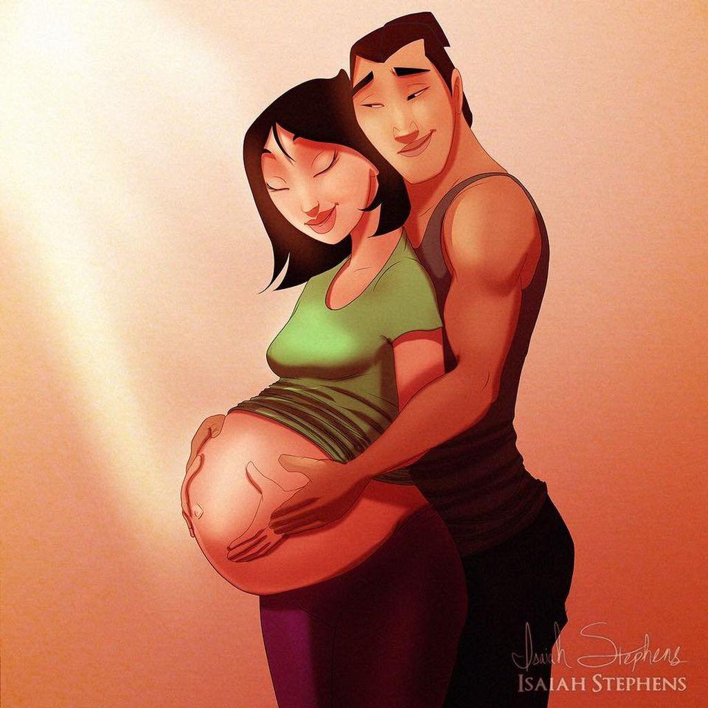 Καλλιτέχνης μετατρέπει τους ήρωες της Disney σε γονείς και το αποτέλεσμα είναι μοναδικό (pics)