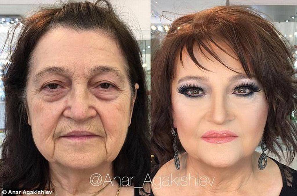 Μake up artist μεταμορφώνει τις γυναίκες με το μακιγιάζ  (pics+vid)