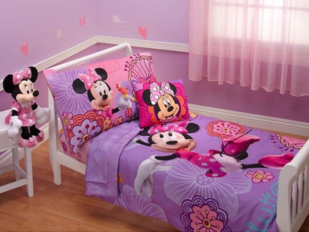 Deco:  Παιδικά δωμάτια για κορίτσια με θέμα τη Minnie