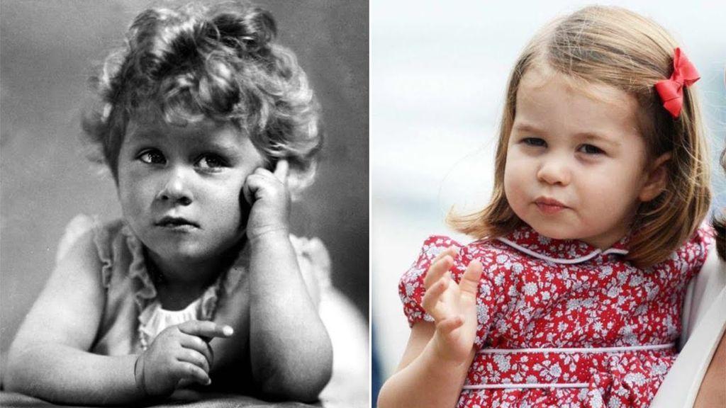 Η πριγκίπισσα Charlotte είναι ολόιδια με τη βασίλισσα Ελισάβετ και υπάρχουν αποδείξεις (pics)