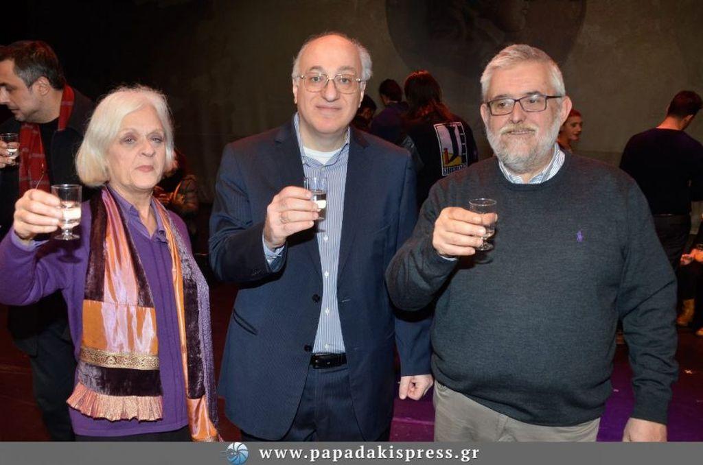 Δελτίο τύπου: Ελληνικός Κόσμος: Κοπή πίτας για τη θεατρική παράσταση «Μέγας Αλέξανδρος»