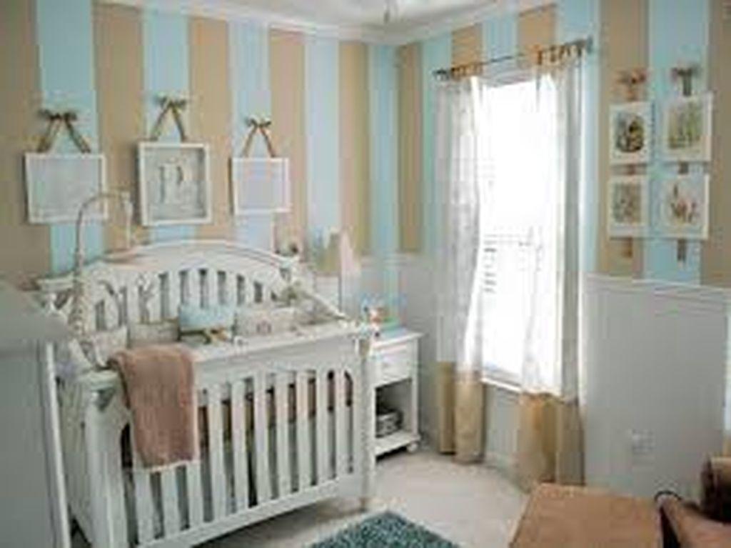 Παιδικό δωμάτιο: Ιδέες για να το βάψετε ή να το διακοσμήσετε με ρίγες