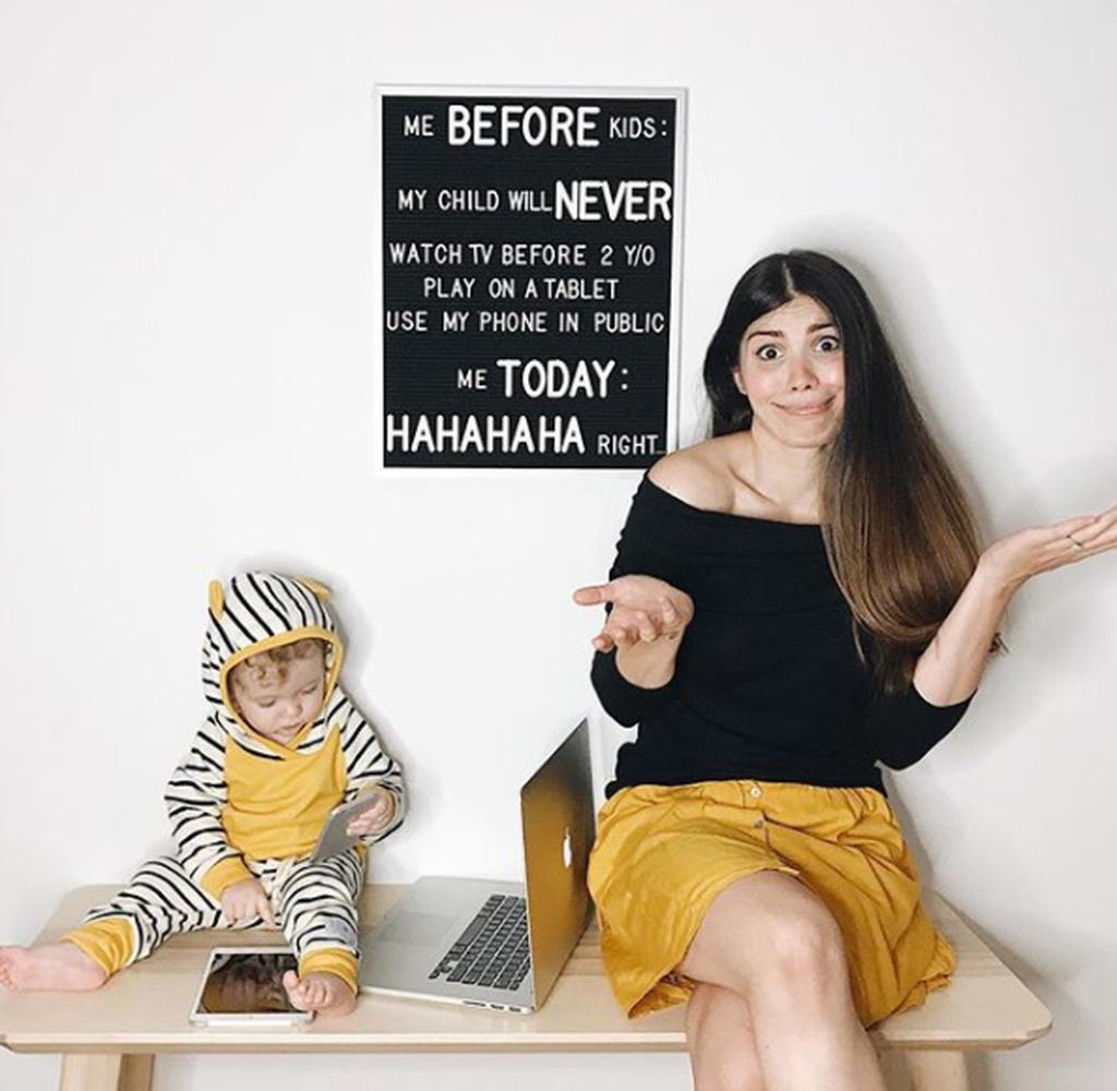 Ταυτιστήκαμε! Η καθημερινότητα μίας μαμάς με δύο μικρά παιδιά, είναι κάπως έτσι (pics)