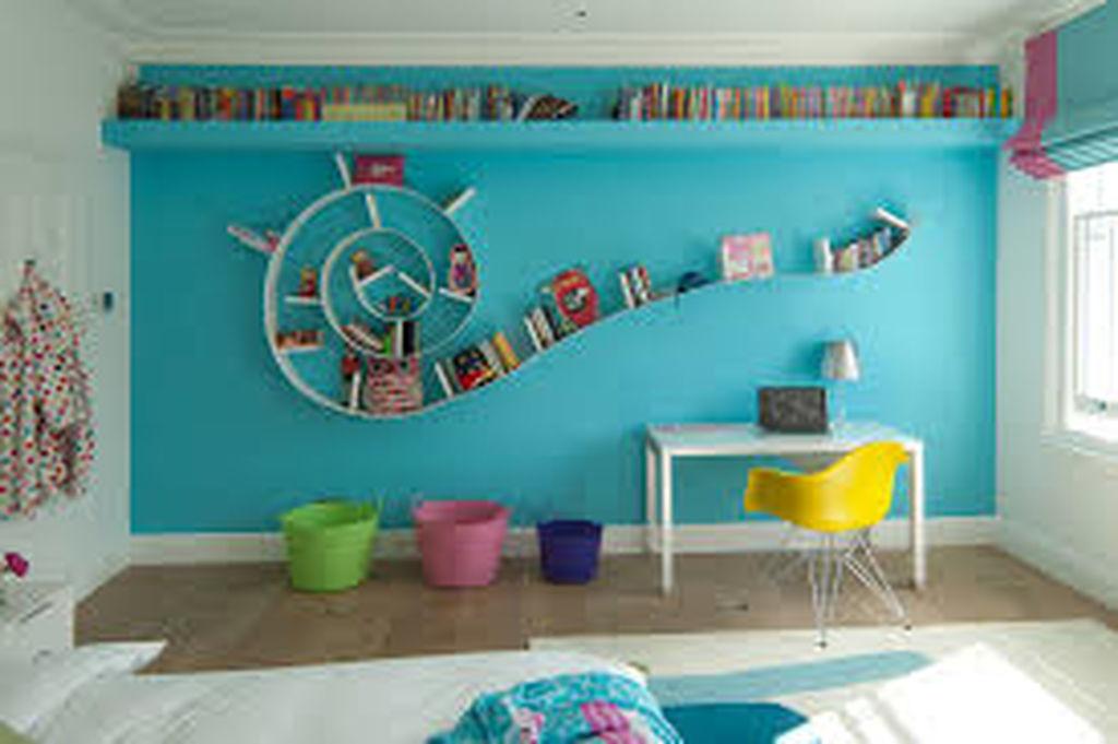 Deco: Παιδικό δωμάτιο σε τόνους τιρκουάζ (φώτο)