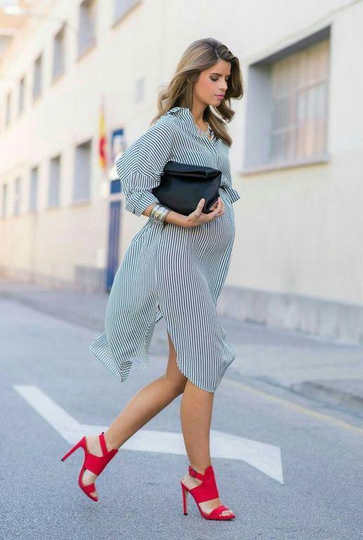 Μόδα εγκυμοσύνης: Είκοσι προτάσεις για άνετα και όμορφα ανοιξιάτικα φορέματα