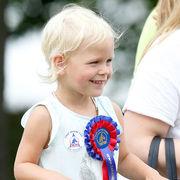 Isla Elizabeth Phillips Η μικρότερη κόρη του πρίγκιπα Peter Mark Phillips (γιος της πριγκίπισσας Anne)