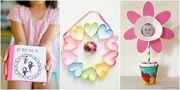 Δέκα πέντε δώρα που μπορούν να φτιάξουν μόνα τους τα παιδιά για τη γιορτή της Μητέρας