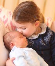 Πριγκίπισσα Charlotte και πρίγκιπας Louis
