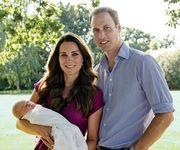 kate Middleton, πρίγκιπας William και πρίγκιπας George