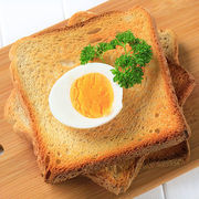 Φρυγανισμένο ψωμί με βραστό αυγό και αβοκάντο