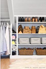 Έξυπνες λύσεις για να οργανώσετε την μικρή ντουλάπα σας (pics)
