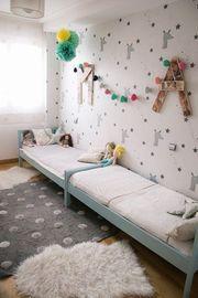 Είκοσι μοντέρνες ιδέες για κοινό παιδικό δωμάτιο (pics)