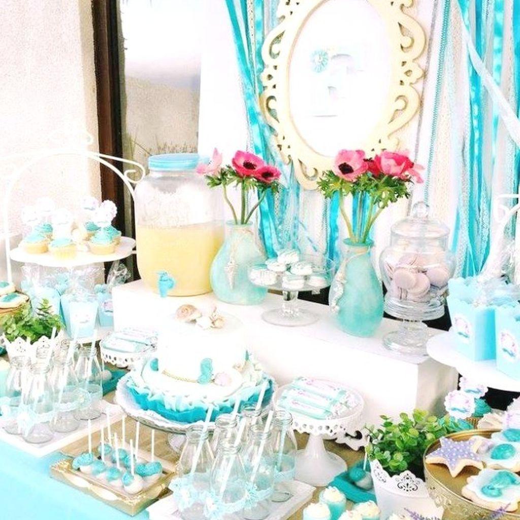 Παιδικό πάρτι με θέμα τις γοργόνες για κορίτσια που λατρεύουν το καλοκαίρι