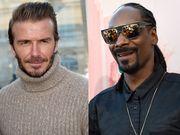 David Beckham και Snoop Dogg