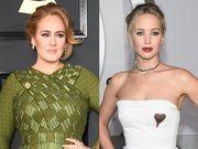 Adele και Jennifer Lawrence