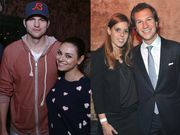 Mila Kunis and Ashton Kutcher και Princess Beatrice and Dave Clark
