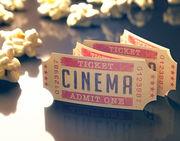 Εισιτήρια για το σινεμά ή το θέατρο
