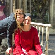 Η Δέσποινα Καμπούρη με την υπέροχη μαμά της, Χριστίνα!