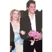 Ο Γιώργος Τσαλίκης με τη μητέρα του