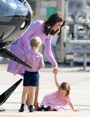 Kate Middleton: Κάπως έτσι διαχειρίζεται τα ξεσπάσματα των παιδιών της δημόσια (pics)