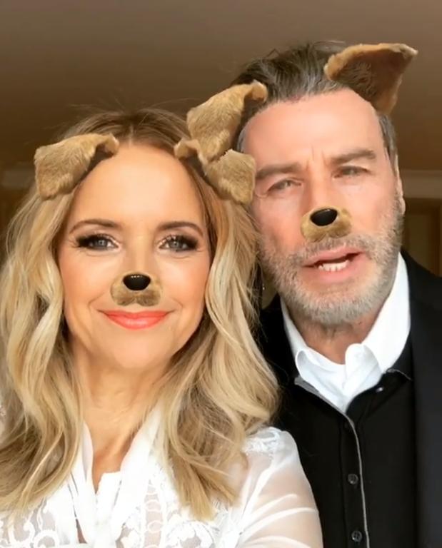 Ο John Travolta και η σύζυγός του Kelly Preston υπέκυψαν στις πιέσεις της κόρης τους και άνοιξαν accounts στο Instagram, μόλις πριν δύο μέρες. Και αυτό είναι το πρώτο ποστ του ηθοποιού