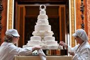 Η γαμήλια τούρτα του πρίγκιπα Willima και της kate Middleton