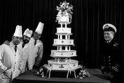 Η γαμήλια τούρτα του πρίγκιπα Κάρολου και της πριγκίπισσας Diana το 1981