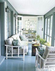 Τριάντα ιδέες για να βάψετε το σπίτι σας (pics)