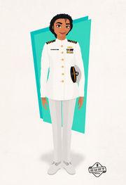 Βαϊάνα: Αξιωματικός του Ναυτικού