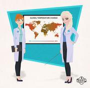 Έλσα και Άννα: Επιστήμονες για την αλλαγή του κλίματος