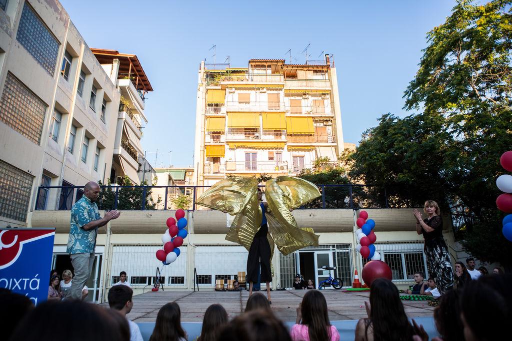 Δελτίο τύπου: Ιστορίες που άλλαξαν την Αθήνα από τα Ανοιχτά Σχολεία δήμου Αθηναίων