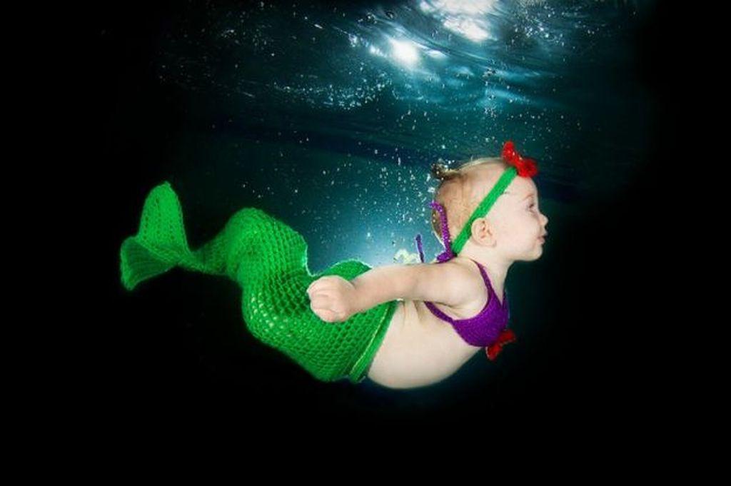 Φωτογραφίες μωρών κάτω από το νερό που θα σας πάρουν τα μυαλά