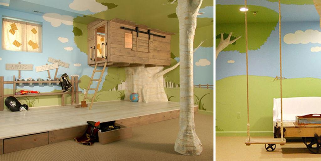 Είκοσι εντυπωσιακά και ασυνήθιστα παιδικά δωμάτια (pics + vid)
