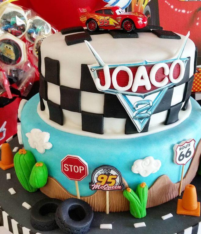 Πάρτι γενεθλίων για αγόρια με θέμα τα Cars