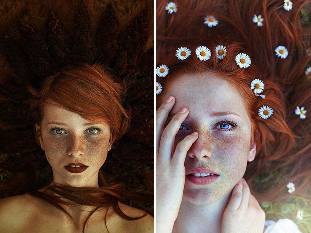 Δέκα εκπληκτικά πορτραίτα με κοκκινομάλλες που θα σας κάνουν να αγαπήσετε το κόκκινο της φωτιάς