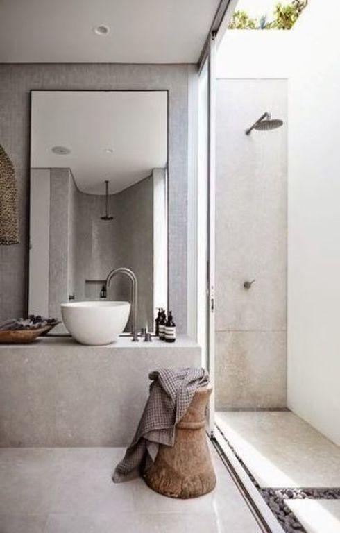 Είκοσι εντυπωσιακές ιδέες για εξωτερική ντουζιέρα (pics)