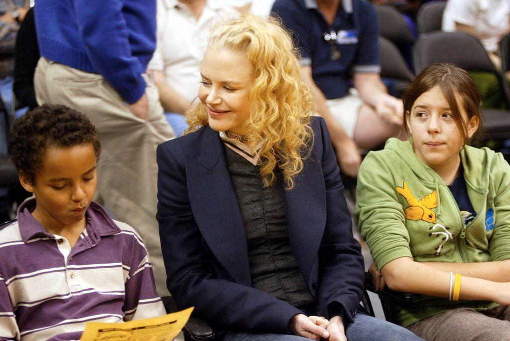 Η Nicole Kidman υιοθέτησε δύο παιδιά με τον τότε σύζηγο της Tom Cruise