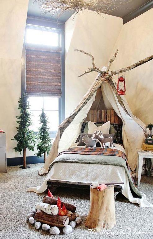 Ιδέες για ένα μοναδικό και πρωτότυπο παιδικό δωμάτιο (pics)