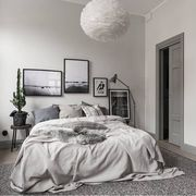 Εικοσιπέντε ιδέες να διακοσμήσετε την κρεβατοκάμαρά σας σε αποχρώσεις του γκρι (pics)