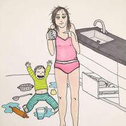 Τα σκίτσα που θα κάνουν κάθε μαμά να ταυτιστεί (pics)