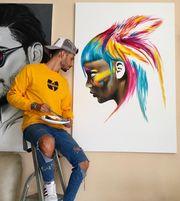 Tα πιο εντυπωσιακά πορτρέτα διασήμων στους πίνακες αυτού του ταλαντούχου καλλιτέχνη (pics)