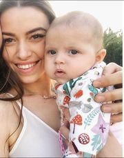 GNTM: Δείτε πρώτη φορά την κόρη της Εβελίνας Σκίτσκο (vid & pics)