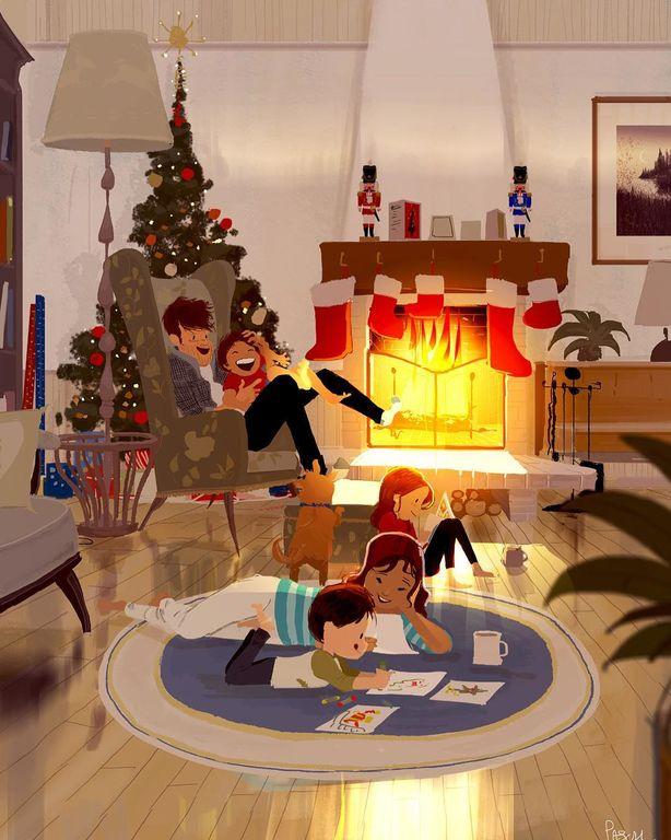 Μήπως αυτά τα σκίτσα σας θυμίζουν τη δική σας οικογένεια; (pics)