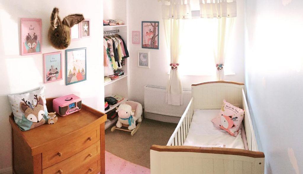 Βρεφικά δωμάτια για κορίτσια: 15 πρωτότυπες ιδέες διακόσμησης (pics)