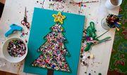 Φτιάξε απίθανες χριστουγεννιάτικες κατασκευές και διακοσμητικά για το σπίτι με τα παιδιά σας! (pics) Πηγή φωτογραφίας: Whatever…