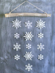 Φτιάξε απίθανες χριστουγεννιάτικες κατασκευές και διακοσμητικά για το σπίτι με τα παιδιά σας! (pics) Πηγή φωτογραφίας: The Crafted Sparrow