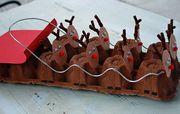 Φτιάξε απίθανες χριστουγεννιάτικες κατασκευές και διακοσμητικά για το σπίτι με τα παιδιά σας! (pics) Πηγή φωτογραφίας: The Well Nourished Nest
